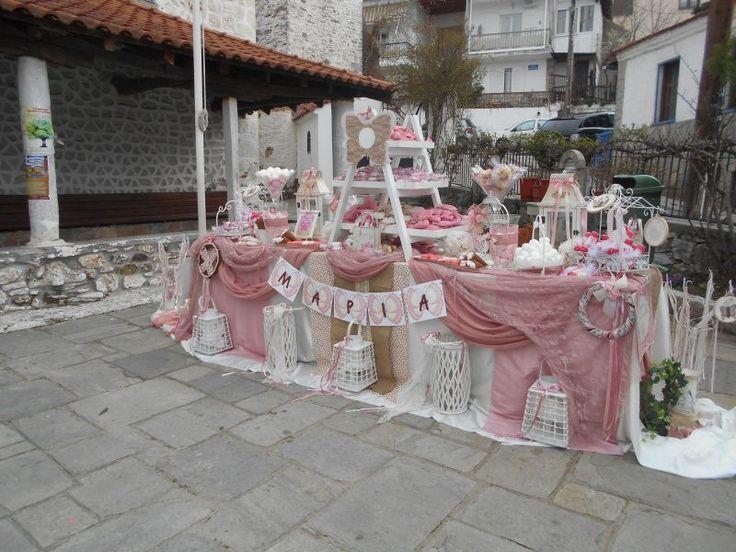 Ράνια | Βάπτιση - Στολισμός Βάπτισης - Κορίτσι - Βαπτιστικά Θεσσαλονίκη