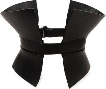 That's cool. Gareth Pugh Leather Corset Belt - Lyst