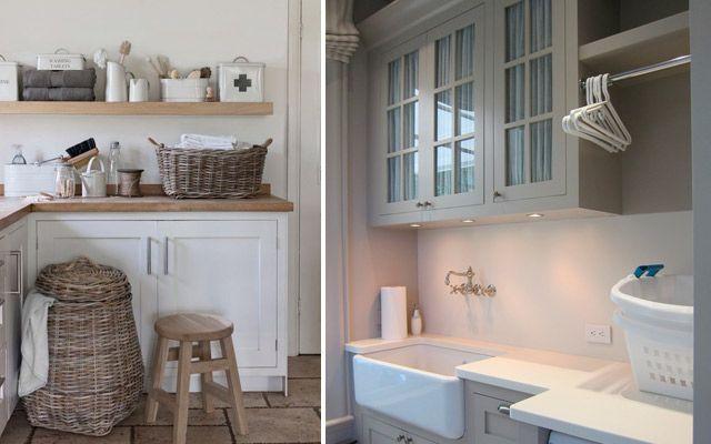 Ideas para decorar el cuarto de la colada lavadero for Cuartos lavaderos
