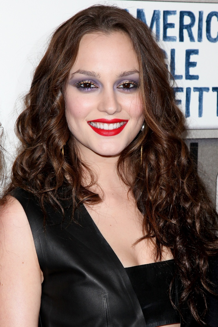 Bad makeup: Leighton Meester