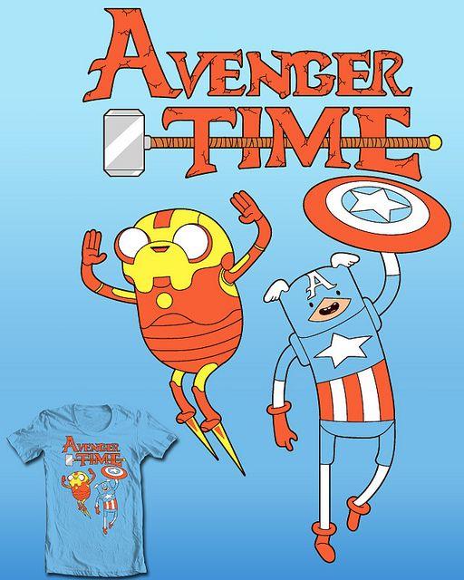 Avenger Time by Fred Seibert, via Flickr - Adventure Time