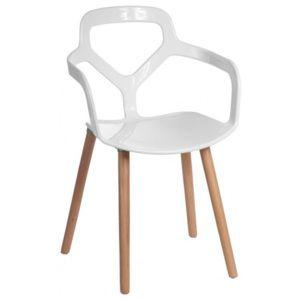 Jídelní židle One plus bílá 41971 Lugo design