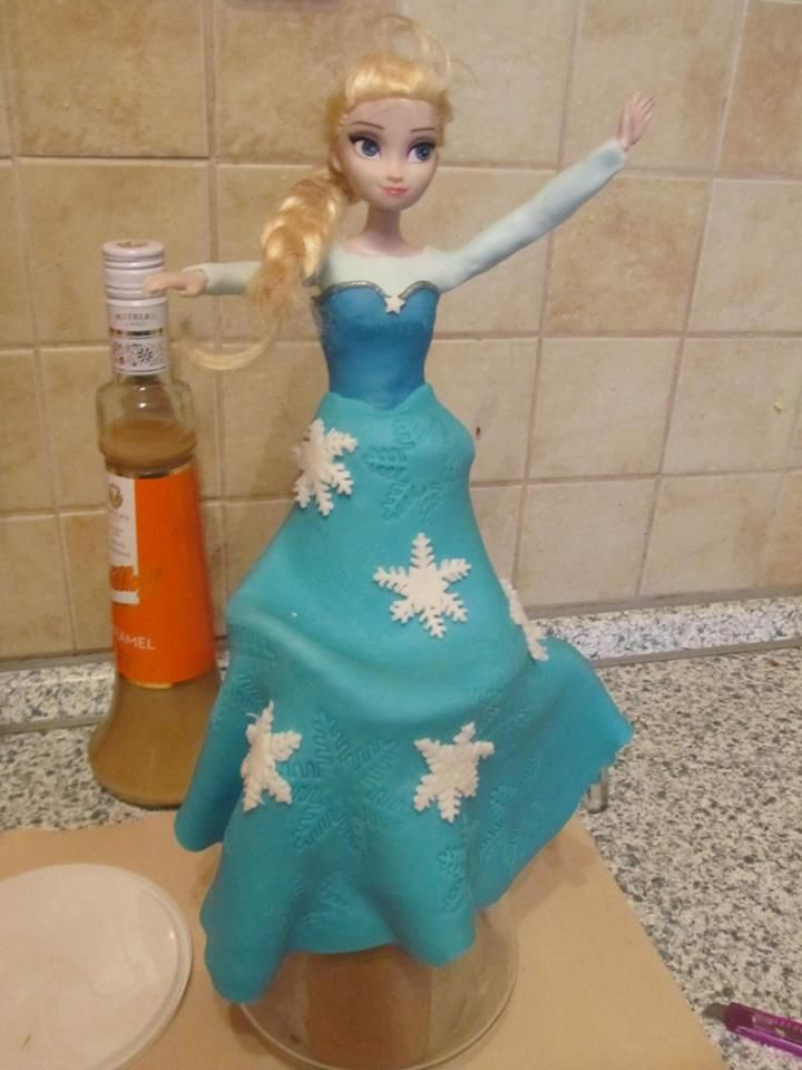 Elsa fondant