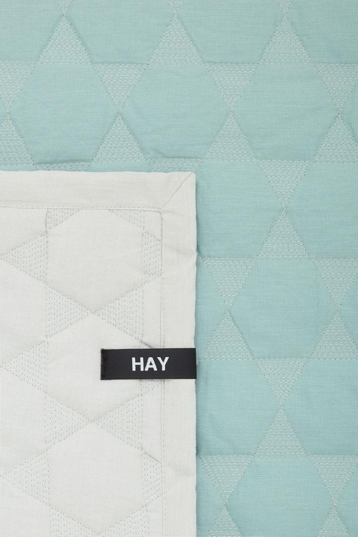Polygon cotton quilt