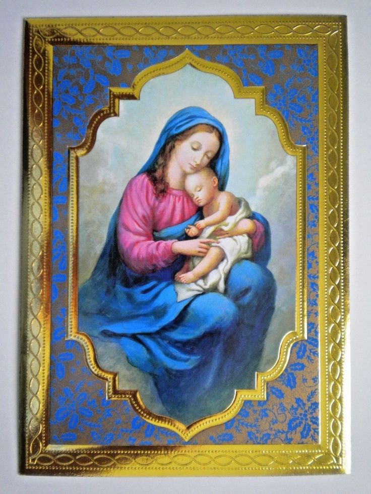 """RELIGIOUS CHRISTMAS GREETING CARDS WITH ENVELOPES ~ You Choose - $1.56. Hello and welcome to my auction. For your consideration is a selection of 12 beautiful new Religious Christmas Greeting Cards with white envelopes. Embossed """"Blessed Mother & Child""""5"""" x 7""""""""May Mary, our Mother,On this Christmas mornShare her wondrous JoyThat the Lord is born!""""A Blessed Christmas Embossed """"Holy Family""""5"""" x 7""""""""May the Holy Family bless youin a deep ..."""
