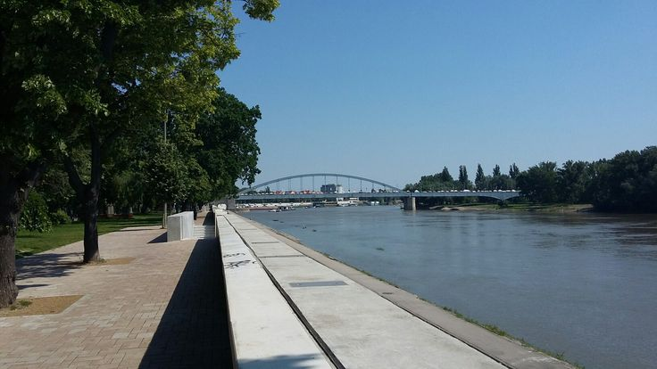Szeged, Belvárosi híd,Tisza