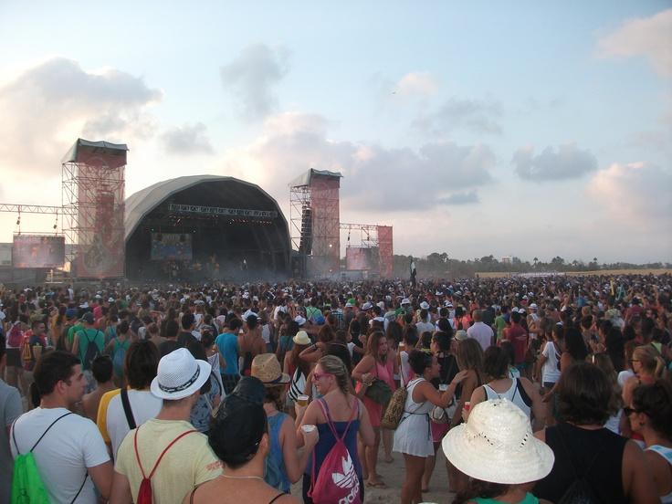 La Pegatina en el Festival Arenal Sound 2012