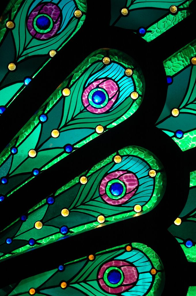 Obsession                                                                                                                                                                                 More #StainedGlassFeathers