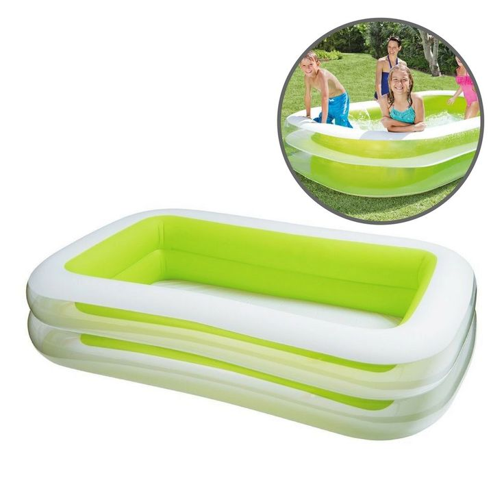 Inflatable Patio Swimming Pool Summer Water Fun Kids Party Swim Entertainment  #InflatableSwimmingPool