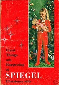 SPIEGEL 1970 CHRISTMAS Catalog SPIEGELS WISHBOOK |