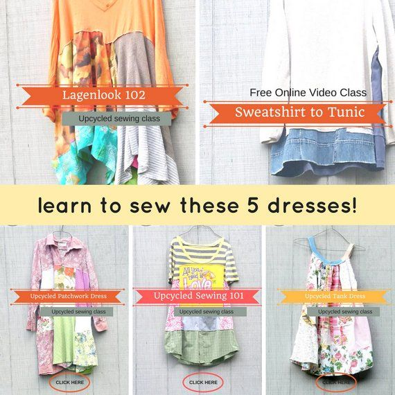 Sewing Classes Upcycled Sewing Refashion Reclaimed Repurposed