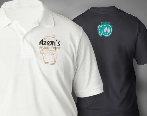 customized embroidered polo shirts