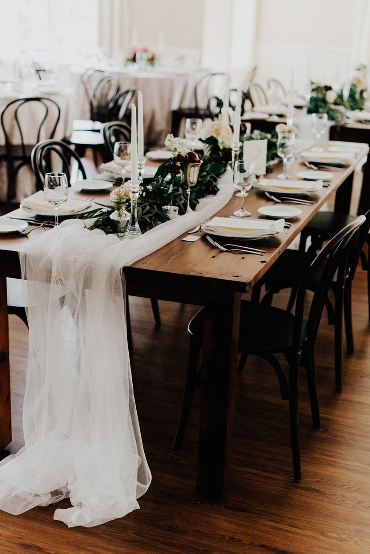 Get our sheer by the room for your table center peice. https://www.georgiaexpo.com/product/sheer-roll/