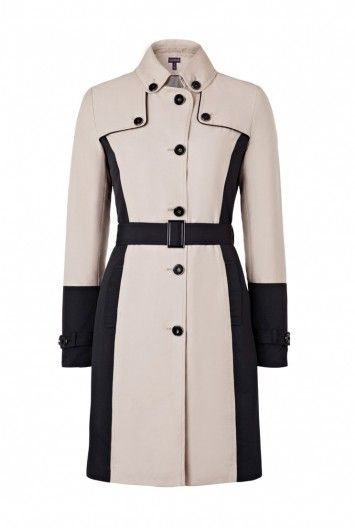Color Block Trench for Tall Women | Long Tall Sally USA