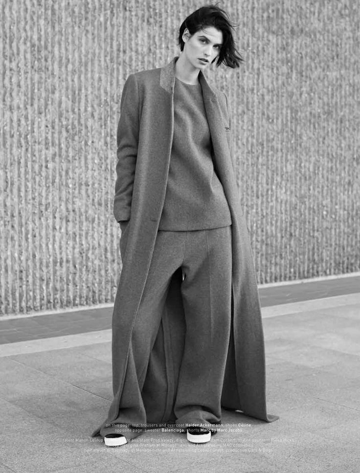 visual optimism; fashion editorials, shows, campaigns & more!: manon leloup by thomas lohr for muse winter 2014