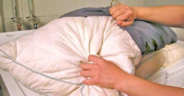 Как часто вы слышали, что пуховые подушки стирать нельзя? Мол, можно только сушить на солнце. А как же тогда быть с пятнами и…