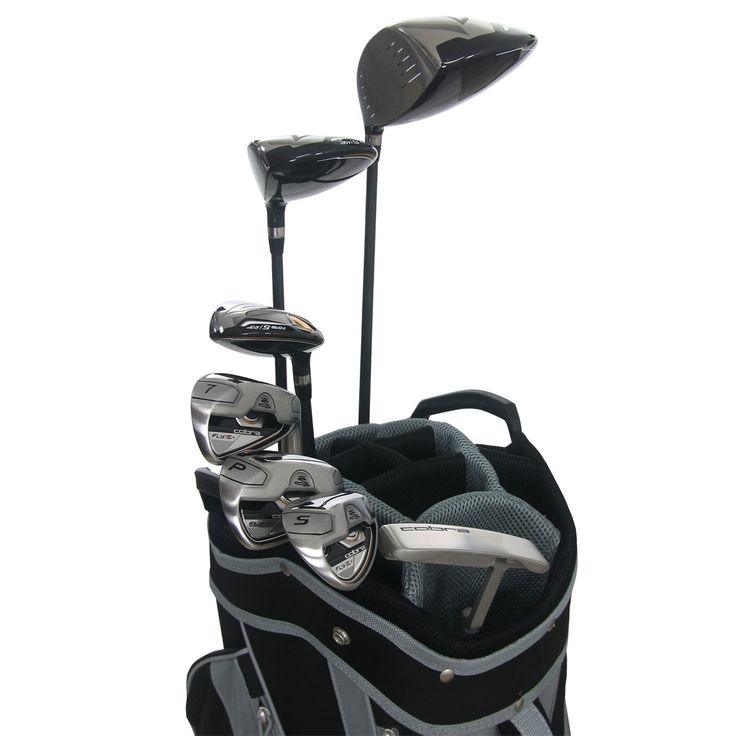 Cobra Golf Mens FLYZ S 12 Piece Golf Set Including Bag  NEW