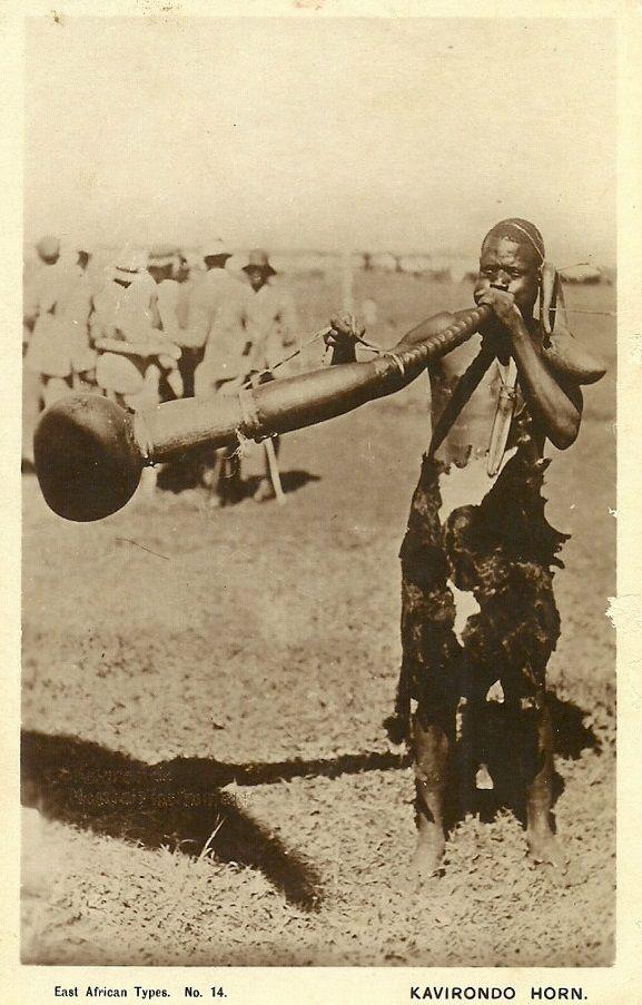 East Africa Kavirondo Horn Blower