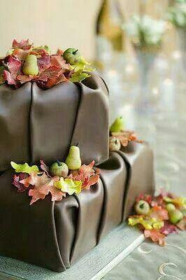 Chocolate pleats