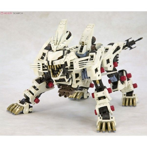 Manufacturer : KOTOBUKIYA  Condition : This product needs to be assembled.  Series : Zoids  Grade : HMM     From one of the legendary Robot/ Dinosaur anime shows Zoids, Zoids RZ-041 Liger Zero Type Zero comes to 1/72 scale model kit! The Liger Zero has a fully articulate inner frame onto which you attach the armor parts (or don't attach, if you prefer). For weapons, Liger Zero comes packing with its AZ108mm High Density Beam Gun and Strike Laser Claw. All parts are molded in color…