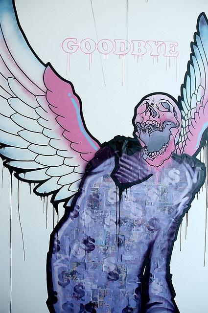 """""""Goodbye"""" Installation by Mike Shinoda"""