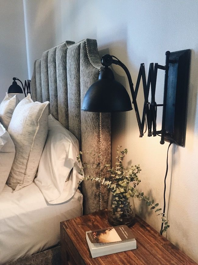 Small Bedroom Wall Sconce Lighting Idea Modern Farmhouse Style Home Tour Street Of Dreams Simple Bedroom Decor Sconces Living Room Wall Sconces Bedroom