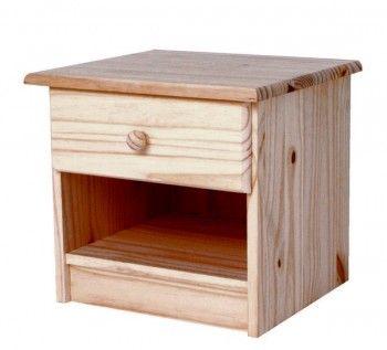 34 best table de chevet images on pinterest bedside desk solid pine and drawer. Black Bedroom Furniture Sets. Home Design Ideas