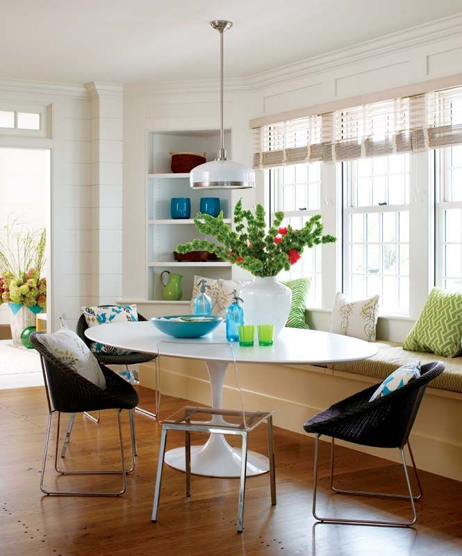 Sunroom Dining Room Creative: 337 Best Images About Banquettes On Pinterest
