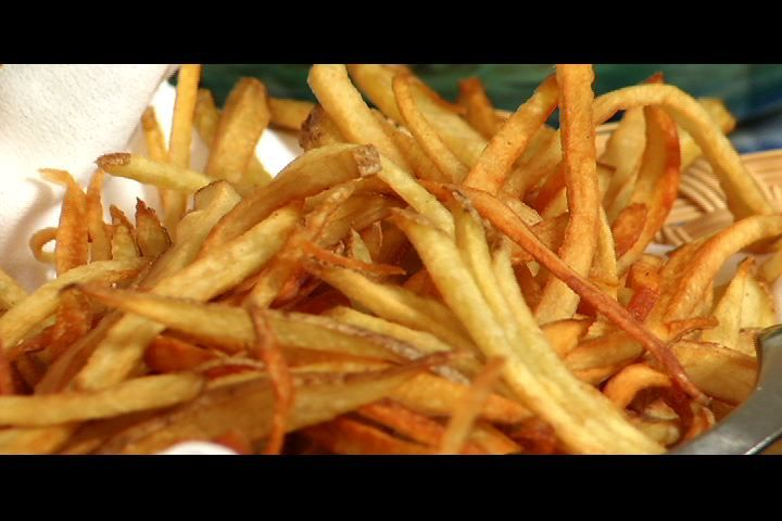 Matchstick French Fries | food | Pinterest