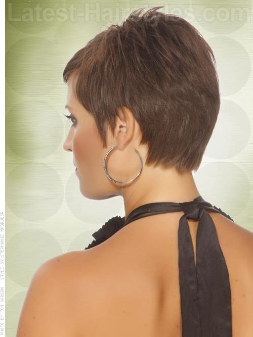 Side swept hairstyles back view