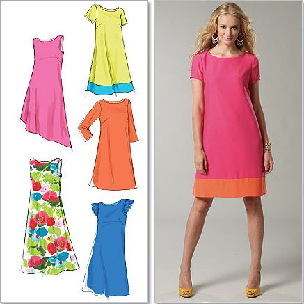Dressmaking for beginners in a day - Shift Dress