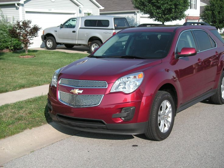 2011 Chevy Equinox with expanded aluminum grille overlays