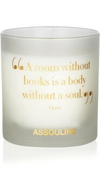 AssoulineBooks scented candleStevie Nick
