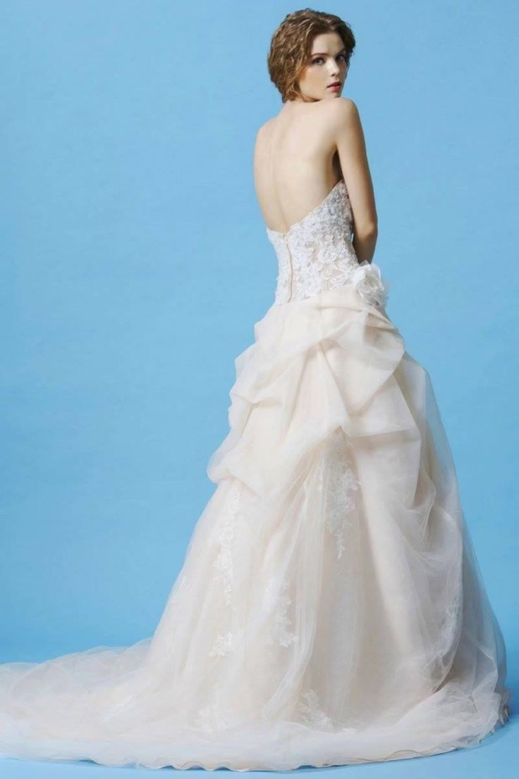 123 best Ball Gown & A-Line Wedding Gowns images on Pinterest ...