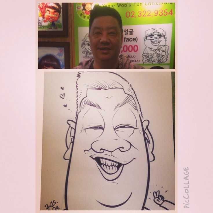 Wilfred Lee caricatures