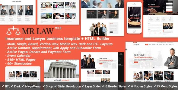 Mr Law Lawyer Attorney And Law Firm Templates Best Templates