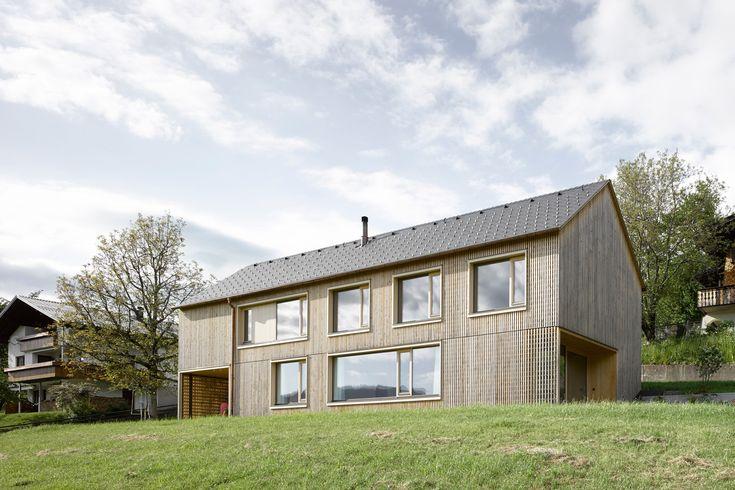 Innauer-Matt Architekten - Wohnhaus in Egg