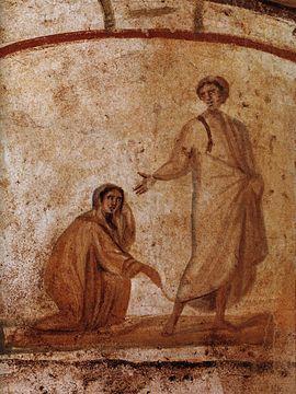 Jesus healing the bleeding woman - Wikipedia, the free encyclopedia