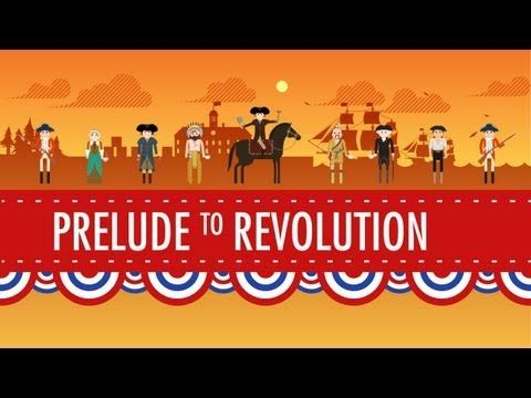 Taxes & Smuggling - Prelude to Revolution: Crash Course US History #6 - YouTube History with John Green. Revolutionary War.