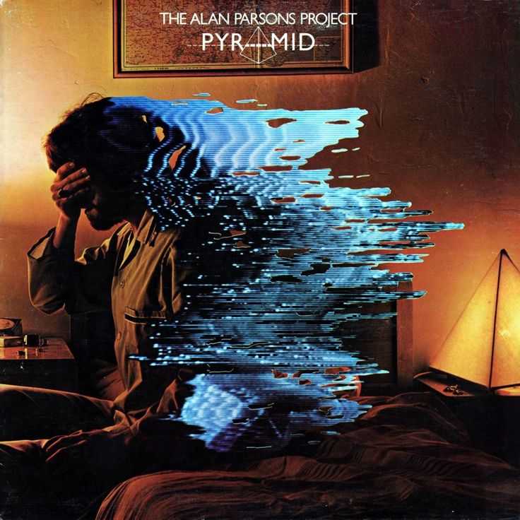 """The Alan Parsons Project cover art for the album """"Pyramid"""""""