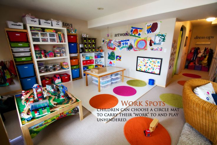 An amazing post on play space in a small house (with 6 kids)! Love it!
