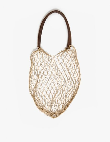 The Net Bag in Natural | store bath toys
