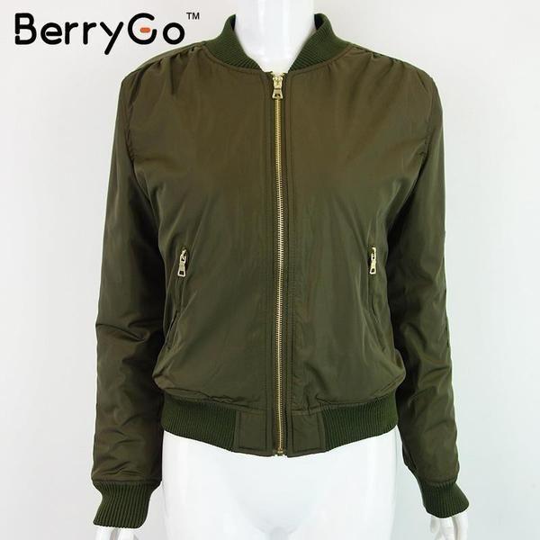 Casual Military Bomber Women's Jacket $57.99 www.missmolly.com.au #missmollyau #accessories #coats #scarves #jackets #winter #autumn #fashion #womensfashion