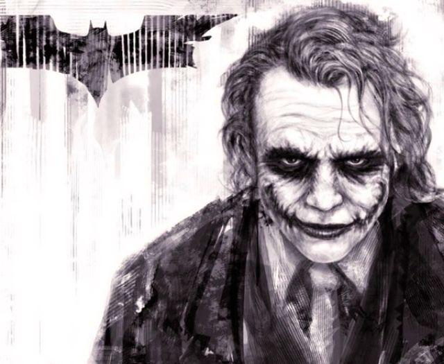 Joker Scribble Drawing : Best the joker images jokers and