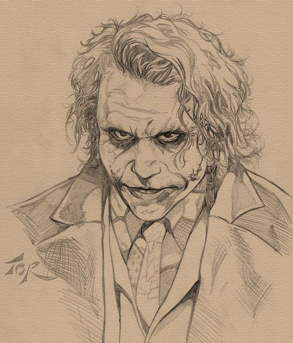 Movie Joker Sketch by torsor