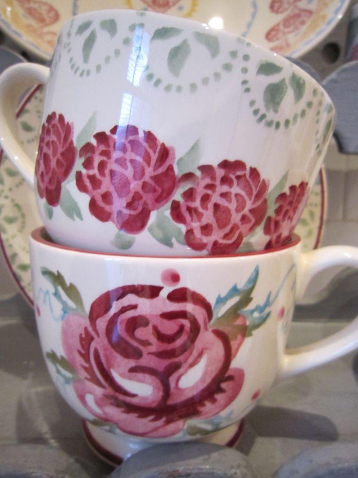 Emma Bridgewater Rose & Peony cups