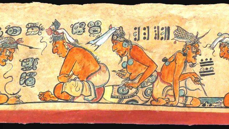 El mito de la creación de los mayas.  El Popol Vuh narra la historia de la creación de los mayas, las hazañas de los gemelos héroes.