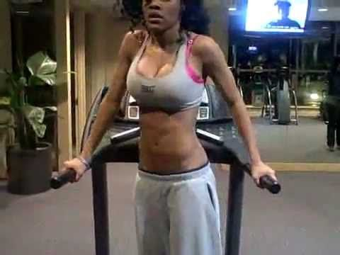 Teyana Taylor's secret work-out plan
