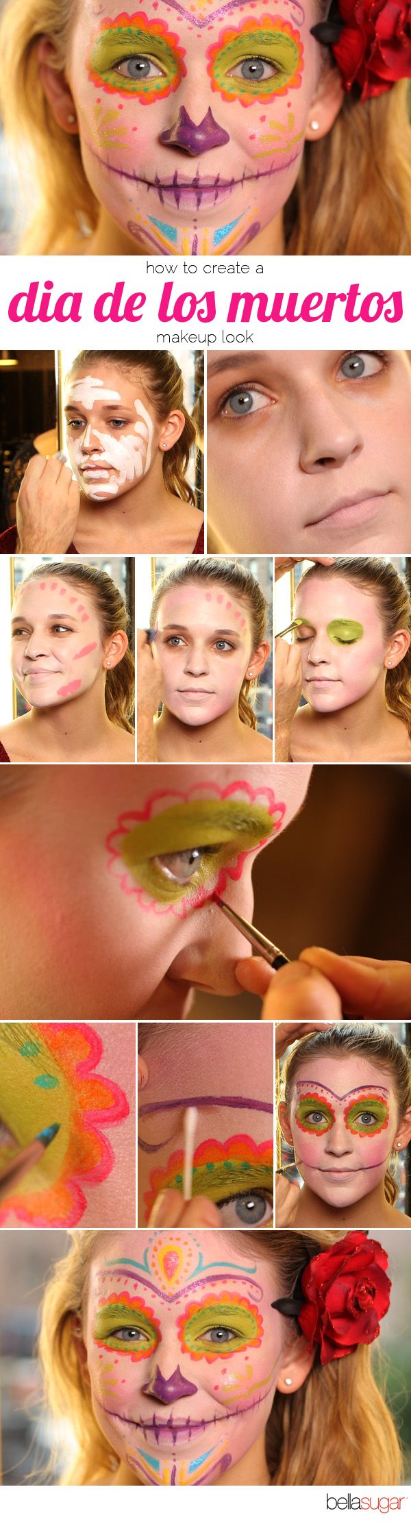 maquillaje calaverita
