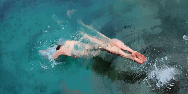 Pedro Covo- Swimmer 3